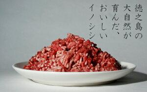 【ふるさと納税】リュウキュウイノシシミンチ肉2,000グラム