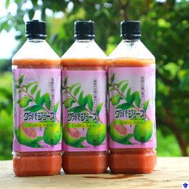 【ふるさと納税】グァバ生ジュース3本セット