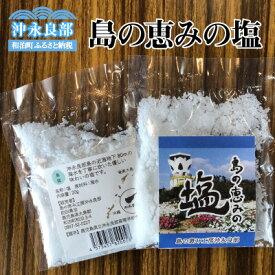 【ふるさと納税】島の恵みの塩