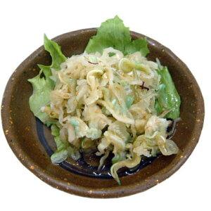 【ふるさと納税】ミミガーサラダ (豚耳&海産物)