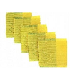 【ふるさと納税】ウージ染め手織りコ?スターウージヌファ5枚セット