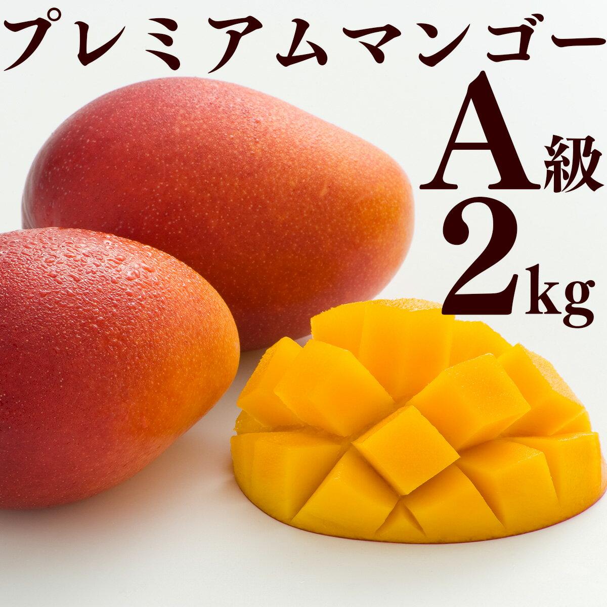 【ふるさと納税】先行予約!南城市産プレミアムアップルマンゴー2kg