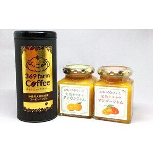 【ふるさと納税】大宜味村産100%コーヒーとジャムセット