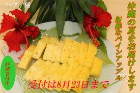 【ふるさと納税】 今帰仁産パインアップル(ハワイ種)2玉(1玉約1.7kg〜×2玉)