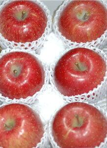 【11月分予約】サンふじ りんご 贈答用 特選品質 約2kg 大玉6個前後入 リンゴ 林檎 さんふじ サンフジ S10 11g