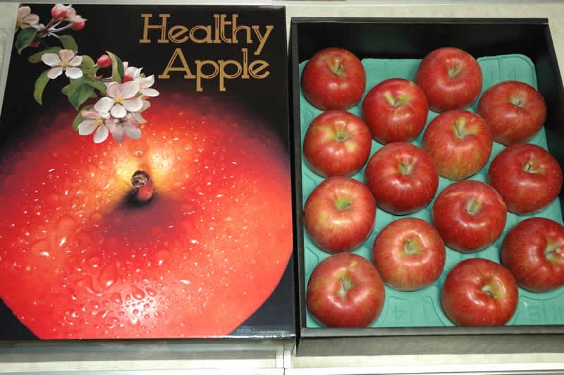 長野産 りんご シナノスイート 贈答向け特選 5kg 大玉12〜14個前後 化粧箱入 リンゴ 林檎