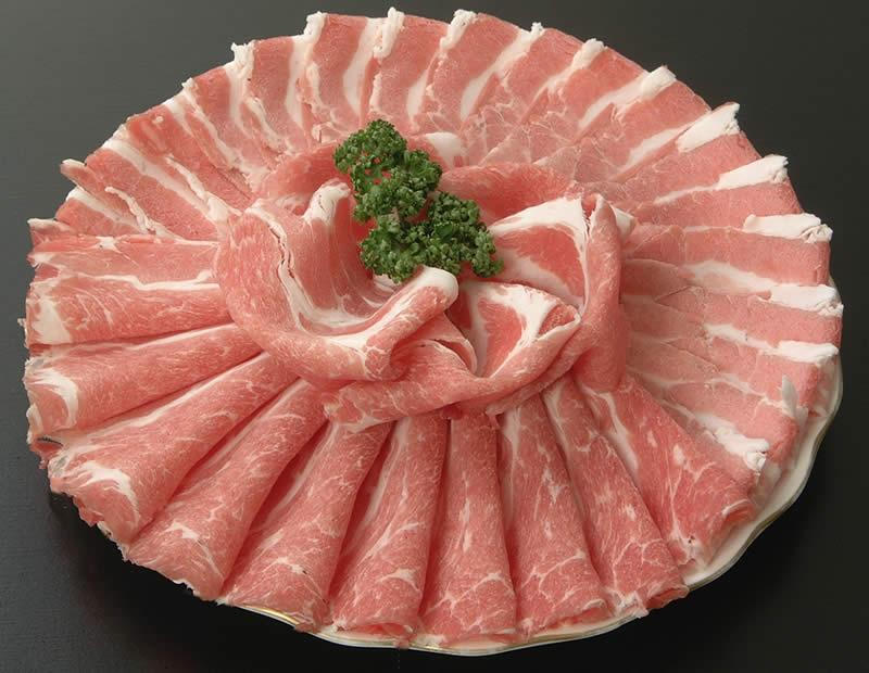 808アベル 鹿児島 黒豚 しゃぶしゃぶ バラ400g+モモ400g 産地直送 ギフト 豚肉 お中元 冷しゃぶ