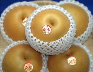 最高糖度17度 梨 長野産 南水梨 贈答用 大玉10〜14個 約4.5kg入 南水 ギフト 秀品 SSS