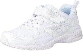 (B倉庫)瞬足レモンパイ 427 LEJ 4270 子供靴 スニーカー キッズ ジュニア シューズ 女の子 靴 2E 白 ハート