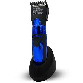 バリカン ウォッシャブル充電式バリカン コードレス 10段階 散髪 セルフカット 電動 家庭用 メンズ 女性 子供のセルフカット