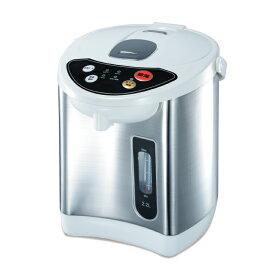 電気ポット 2.2リットル 3段階 保温機能付き 温度調整 おしゃれ 電動給湯ポット
