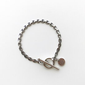 【PHILIPPE AUDIBERT/フィリップオーディベール】Andy chain bracelet, brass silver color,チェーン ブレスレット ベーシック シルバー オシャレ 人気 シンプル ジュエリー アクセサリー ブランド