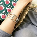 ★大人気モデル★【PHILIPPE AUDIBERT/フィリップオーディベール】Colombus bracelet Silver Color,バングル ブレスレット カフ シルバ…