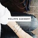 ★大人気モデル★【PHILIPPE AUDIBERT/フィリップオーディベール】Right bracelet L Silver Color,バングル ブレスレット カフ 幅広カ…