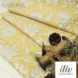 輸入生地 花柄商品名:CARLINA/orcheブランド名:iliv(アイリブ)*50cm以上10cm単位*イギリス・花柄・アンティーク・ボタニカル・ハンドメイド・バッグ・生地・布・あざみ・カルトナージュ・テーブルクロス・カーテン・マスク・カット・高級