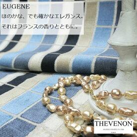 フランス ベルベット商品名:EUGENE/bleuブランド名:THEVENON/フランス*ハーフカット*50cm以上10cm単位*輸入生地・ブルー・カルトナージュ・生地・布