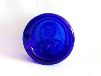 Erik 格伦女人蓝色烟灰缸 S