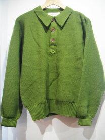 80'S パタゴニア Patagonia 3ツつボタン 羊毛ニットセーター ★サイズ:S★ RM-634