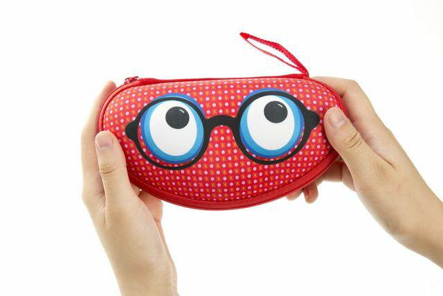 """【Zipit】 ビーストボックス、グラスケース """"レッド"""" monster pouch  pencase 筆箱 ふでばこ ペンケース ポーチzip-036"""