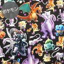 【オックス】★10cm単位続けてカット★デジタルプリント 3D ポケットモンスター 映画「ミュウツーの逆襲EVOLUTION」…