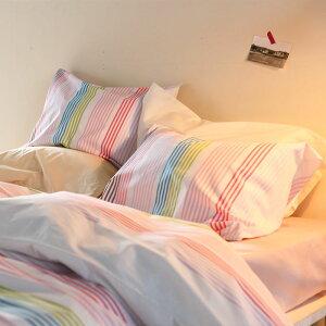 【Fab the Home】 サンシャワー/スウィート 枕カバー 50X70cm用 先染ドビー織