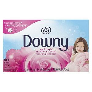 (Downy)ダウニー シート エイプリルフレッシュ 80枚 乾燥機用ソフナーシート(乾燥機用シート)【送料無料!】