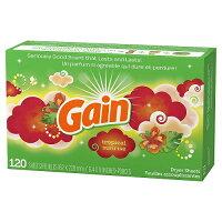 (Gain)ゲイン乾燥機用柔軟シートトロピカルサンライズ120シート乾燥機用ソフナーシート(乾燥機用シート)【送料無料!】