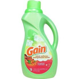 (Gain)ゲイン 柔軟剤 トロピカルサンライズ ソフナー 1530ml【送料無料!】