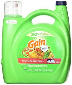 (Gain)ゲイン 衣類用洗剤 トロピカルサンライズ リキッド 4430ml【送料無料!】