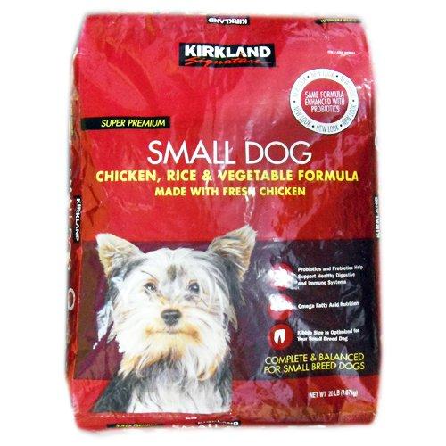 【在庫限り】【COSTCO】コストコ 【KIRKLAND】(カークランド)小型犬用 チキン・ライス・ベジタブル 9.07kg/ドッグフード 【送料無料】