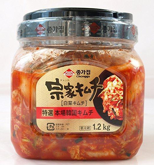 【在庫限り】【COSTCO】コストコ 徳用 宗家(チョンカ)キムチ(白菜キムチ)1.2kg 要冷蔵(冷蔵食品) 【送料無料】