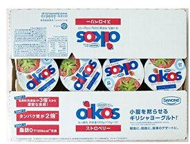 【在庫限り】【COSTCO】コストコ 【DANONE】ダノン オイコス ヨーグルト ストロベリー【イチゴ】 110g×12個( (冷蔵食品) 【送料無料】
