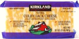 【在庫限り】【COSTCO】コストコ【KIRKLAND】(カークランド)コルビージャックチーズ 907g  Colby/jack Cheese (冷蔵食品)【送料無料】