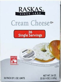 【在庫限り】【COSTCO】コストコ 【RASKAS】ラスカス クリームチーズ ポーション  28g×36個 CREAM CHEESE (冷蔵食品) 【送料無料】