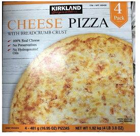 【在庫限り】【COSTCO】コストコ【KIRKLAND】(カークランド)チーズピザ 1.92kg(481g×4枚)(冷凍食品)【送料無料】
