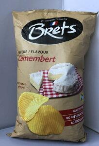 【在庫限り】【COSTCO】コストコ【Brets】ブレッツ ポテトチップス カマンベールチーズ味 500g【送料無料】