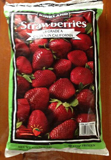【在庫限り】【COSTCO】コストコ【KIRKLAND】(カークランド)冷凍イチゴ(いちご)2.72kg(冷凍食品)【ストロベリー】strawberries【送料無料】