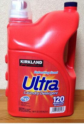 【COSTCO】コストコ【KIRKLAND】(カークランド)ウルトラ 液体洗濯洗剤 5.5L 大容量 Ultra 【送料無料!】