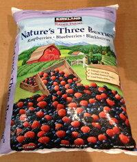 【在庫限り】【COSTCO】コストコ【KIRKLAND】(カークランド)ネイチャーズスリーベリーミックス(ラズベリー、ブルーベリー、ブラックベリー)1.81kg(冷凍食品)Blueberry【レビューを書いて送料無料】