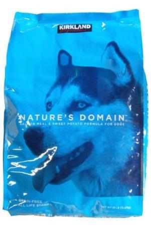 【在庫限り】【COSTCO】コストコ 【KIRKLAND】(カークランド)ネイチャーズドメイン 成犬用 サーモンアンドポテト 15.87kg ドックフード 【送料無料】
