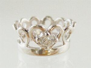 想い出をリングに刻印できるティアラベビーリングプラチナ【ダイヤモンド】【ペンダントヘッド】出産記念 誕生祝い 出産祝い