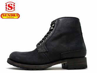 SENDRA 寄件者 11397 C pnegro 花邊靴在西班牙製造