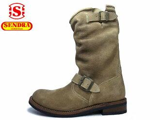 SENDRA瑞爾銅鑼2944C h20長技術員長筒靴女士Ldaie's Made in Spain