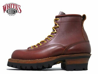 白人烟跳线白人靴子白色的靴子 SMORK 跳线 6inc LTT 红狗 vibram 100 唯一美国制造的工作皮靴靴男人