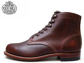 ウルヴァリン 1000マイルブーツ 【ウルバリン WOLVERINE 1000MILE BOOTS WO5299 ラセット ホーウィン社製 クロムエクセルレザー Made in USAメンズ ブーツ men's boots