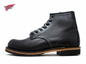 """レッドウィング ベックマン 9014/9414 RED WING BECKMAN 9014 6""""ROUND-TOE BLACK FEATHERSTONE/ブラック フェザーストーン【ポイント15倍!】【ケア用品2点プレゼント!】REDWING メンズ ブーツ men's boots"""