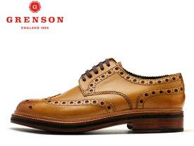 グレンソン 靴 GRENSON ARCHIE アーチー ウィングチップ 110006 TANメンズ ビジネス
