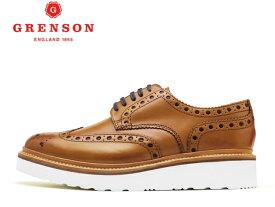 グレンソン 靴 GRENSON ARCHIE V アーチー ウィングチップ 110007 TANメンズ ビジネス