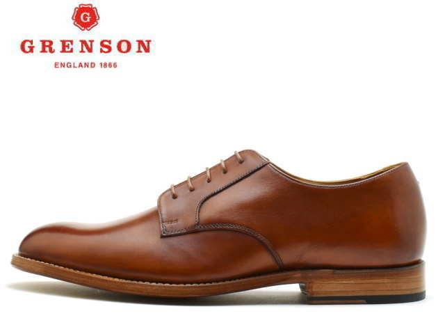 グレンソン 靴 GRENSON プレーントゥ LIAM リアム 111638 TAN【送料無料!】メンズ ビジネス