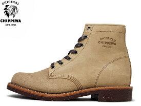 チペワ ブーツ プレーン トゥ サービスブーツ カーキスエード CHIPPEWA 6 PLAIN TOE SERVICE BOOTS 1901G27 KHAKI SUEDE メンズ mens boots